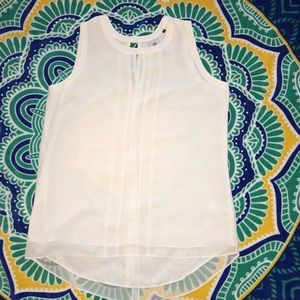 Gorgeous Cabi white tunic blouse